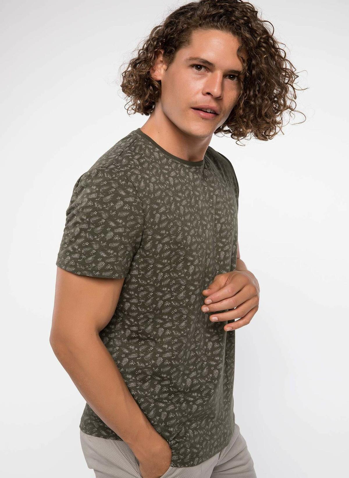 Defacto Desenli Slim Fit T-shirt J0431az18smkh211t-shirt – 29.99 TL